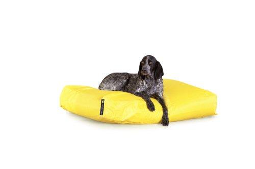 Smoothy Hundebett Hundekissen Hundekorb Dogsmoothy XXL in Gelb