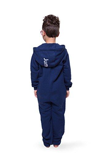 Jumpster Jungen und Mädchen Jumpsuit Kinder Overall Kids Purest Blue Blau - 4