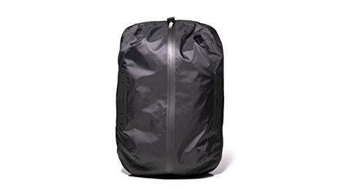 Cancha Bolsa húmeda y seca, tela ligera resistente al agua, se fija a la bolsa de raqueta, compartimentos separados para mojado y seco.