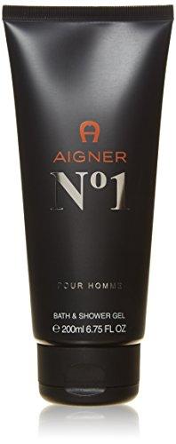 Aigner No. 1 homme/men, Duschgel 200 ml, 1er Pack (1 x 0.254 kg)