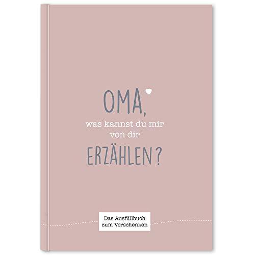 CUPCAKES & KISSES® Oma was kannst du erzählen I Buch zum ausfüllen I Geschenke für Oma I Tolles Geschenk für deine Oma zum Geburtstag oder Weihnachten