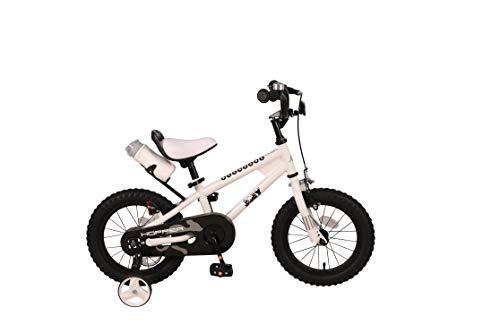 JOEY Hopper 14 inch Kid's Bicycle, White, Children's Bike