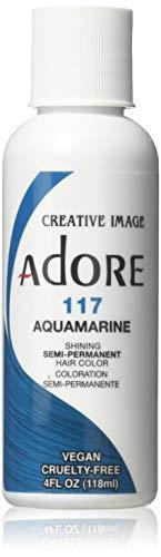 Adore Creative Image Hair Color #117 Aquamarine,4 Ounce