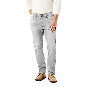 Men's Regular Taper Jeans with Flex Comfort Fabric ( Grey Wash)