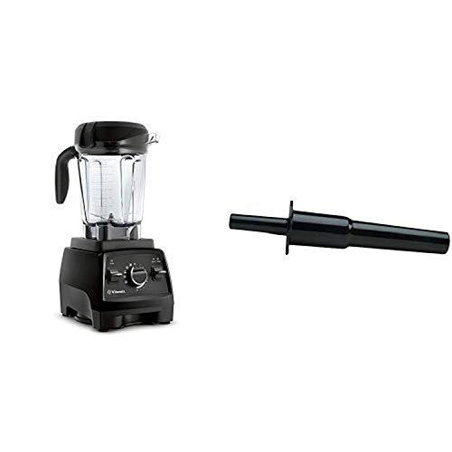 Vitamix Professional Series 750 Blender, Black & Vitamix Accelerator/Tamper Tool