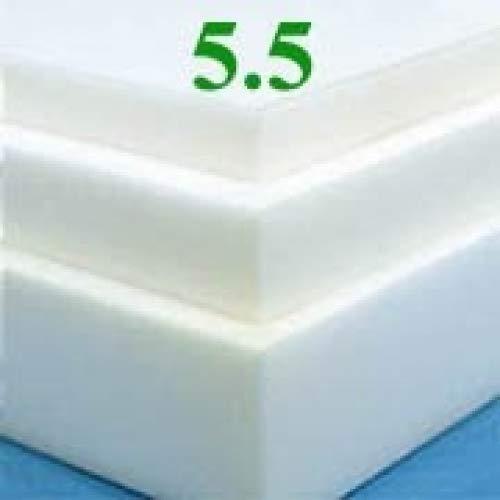 Soft Sleeper 5.5 Queen Size 3 Inch Thick, 100% Visco Elastic Memory Foam Mattress Pad, Bed Topper, Overlay Made From 100% Visco Elastic Temperature Sensitive Memory Foam