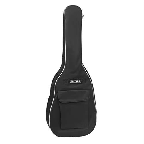 Gitarrentasche Gig Bag Wasserdicht Gitarrenhülle für 40 41 Zoll 600D Oxford Guitar Bag mit Verstellbarer Gurt Gitaaren Tasche für Akustikgitarren und Westerngitarre Konzertgitarre