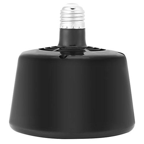 Camidy Lámpara de Calor de Tortuga Criadora de Animales Luz Cálida Temperatura Ajustable Lámpara de Calefacción E27 para Reptiles de Acuario Incubadora de Animales Coop