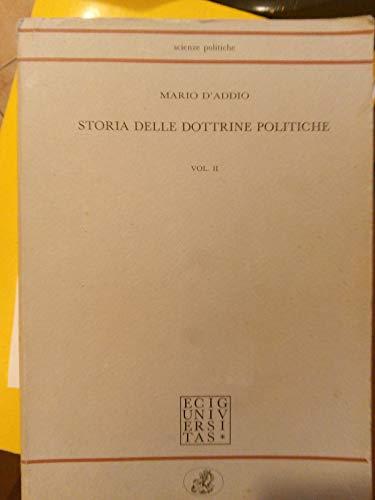Storia delle dottrine politiche (Vol. 2)