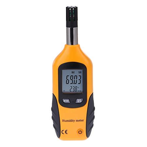 Lancoon Digital Psychrometer - Handheld Thermometer Hygrometer Temperature Humidity Meter with Dew...