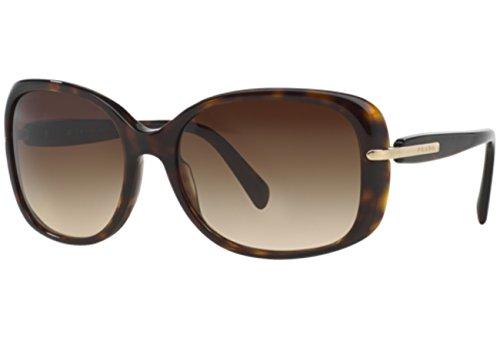 Prada Für Frau 08o Tortoise / Brown Gradient Kunststoffgestell Sonnenbrillen