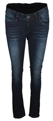 Blue Monkey Damen Jeans Laura mit Ausbleichungen