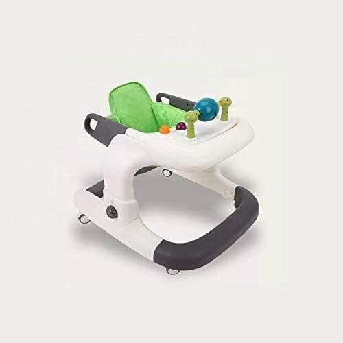 Hu Andador bebé walkersBaby niño del caminante del coche con alta estabilidad de la balanza de bicicletas altura ajustable de múltiples funciones de andadores for bebés, Rojo Judith ( Color : Green )