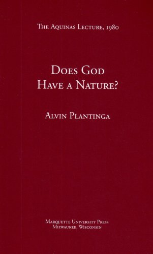 Does God Have a Nature? (Aquinas Lecture 44)