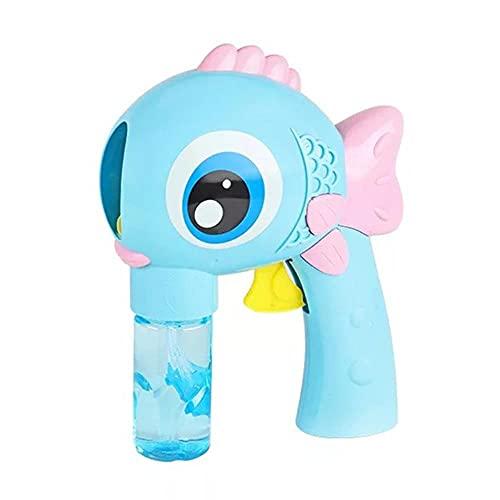DTKJ Pistola de Burbujas, Máquina de Burbujas para niños, Máquina de Burbujas automáticas, Chica Chica Juguete