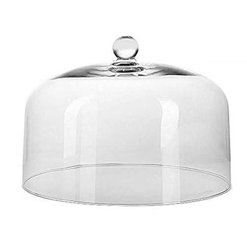 ASA glazen klok, transparant/glas, 32x32x22,5 cm