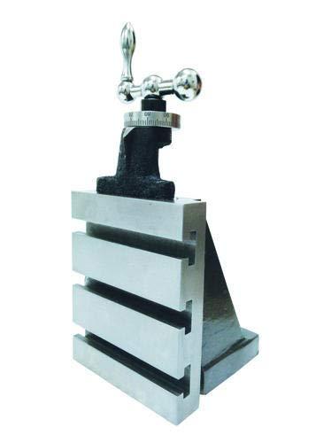 Fester vertikaler Schieber (125 x 100 mm) Fräsaufsatz auf Drehmaschine