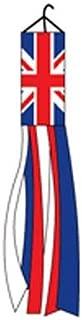 Vista Flags United Kingdom Windsock British 60 Inch Outdoor Garden Wind Sock UK Decoration