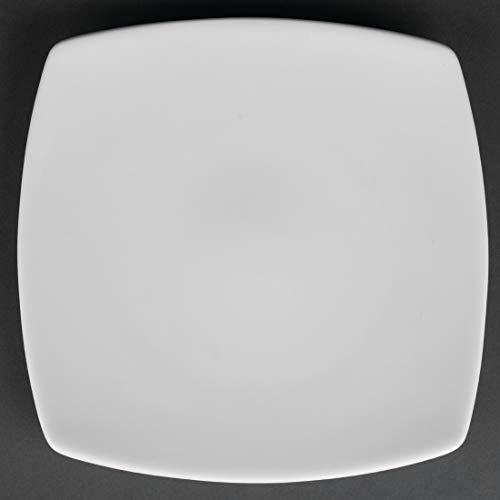 Kana Assiette carrée Diamètre: 190mm (7,5 \