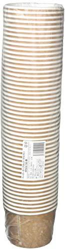ニッチプラス(Niche Plus)耐油・耐水加工使い捨てスープカップ(クラフト)395ml