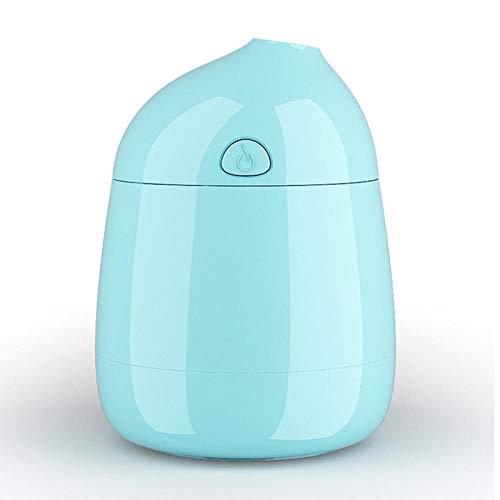 HDFIER luftbefeuchter easehold Luftbefeuchter Ultraschall, Ultra Leise Öl Diffuser für Baby, Schlafzimmer, Raum Mini bequemes leises Blau