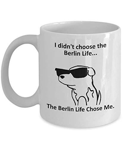 Tazza Magica Tazza da caffè Berlino Tazza con Frase e Disegno Divertente Migliore Tazza In Ceramica Idee Regali Originali