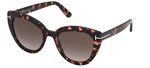 Tom Ford FT0845 - Gafas de sol unisex para adulto Havanna Bunt Talla única