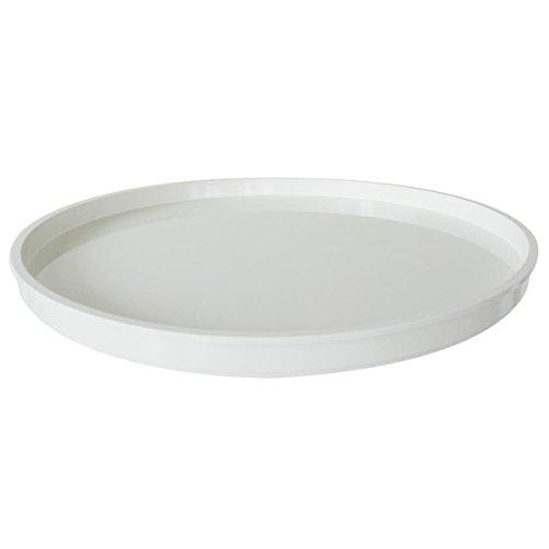 Kartell 495903 Abschlußplatte für Baukastenelement Componibili rund undurchsichtig Durchmesser 42 x 2,9 cm ABS, weiß