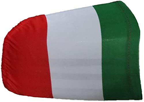 Sonia Originelli Auto Außenspiegel Fahne Set Italien Italy Italia Bikini Flagge EM WM