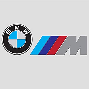 7 X 2.7 Premium Quality GIBMW Beemer Decal Sticker Vinyl B M W MSport Decal Sticker Car Styling Racing Sticker