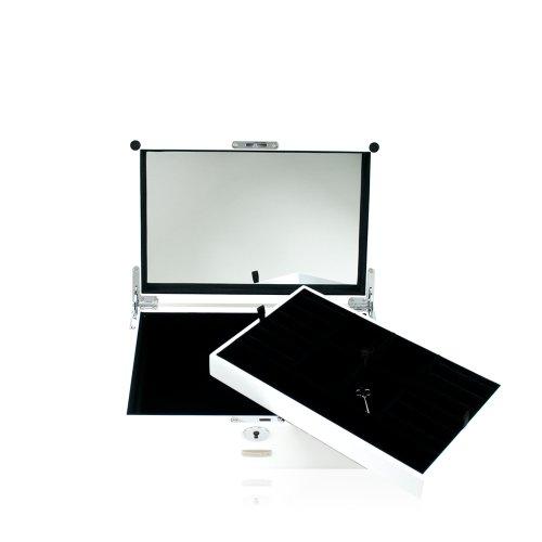 Preisvergleich Produktbild WINDROSE High Gloss Charmbox Schmuckkoffer S 30 cm