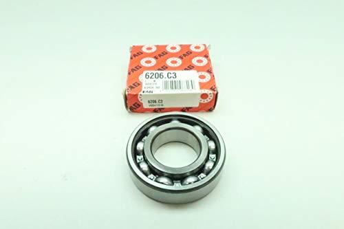 FAG 6206.C3 Roller Bearing 30MM 62MM 16MM
