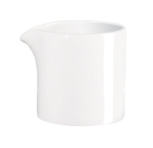 ASA Selection à table Milchgießer, Milch Kännchen, Fine Bone China, Warmes Weiß, 50 ml, 1916013