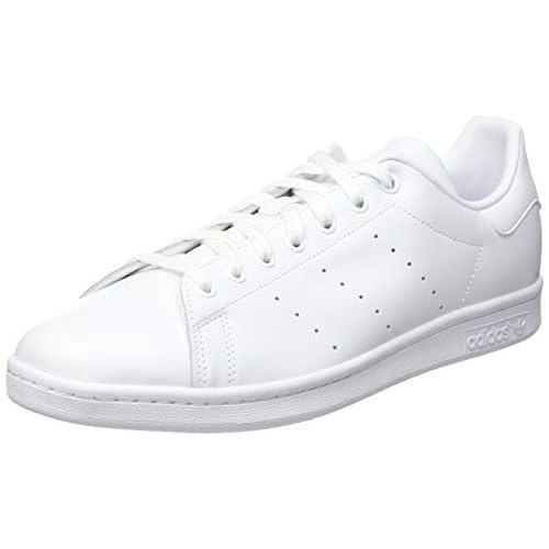 Adidas Stan Smith Scarpe Low-Top, Unisex adulto, Bianco, 46