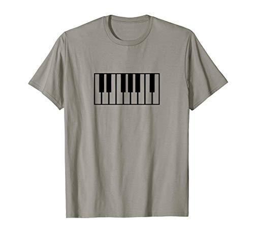 Piano Keyboard Musiker und Pianist Geschenk T-Shirt