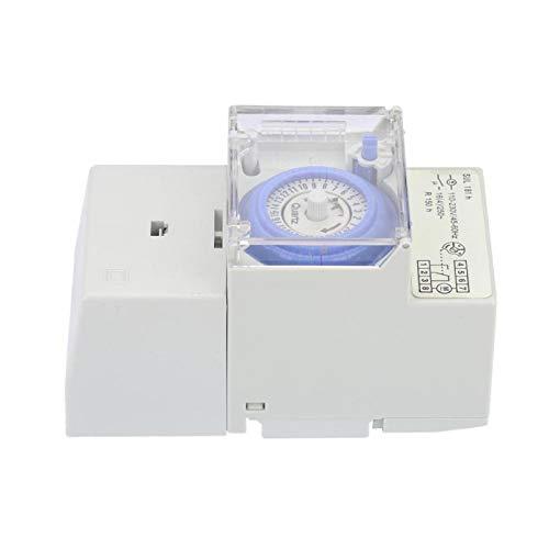 Temporizador, interruptor de tiempo Interruptor de tiempo analógico manual/automático de 24 horas Interruptor de tiempo SUL181H Interruptor de temporizador Interruptor de temporizador