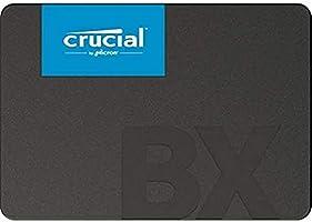 Crucial BX500 240GB 3D NAND SATA 2.5-inch SSD - CT240BX500SSD1,Black/Blue