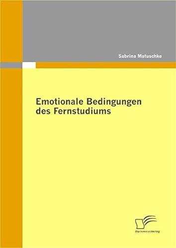 Emotionale Bedingungen des Fernstudiums