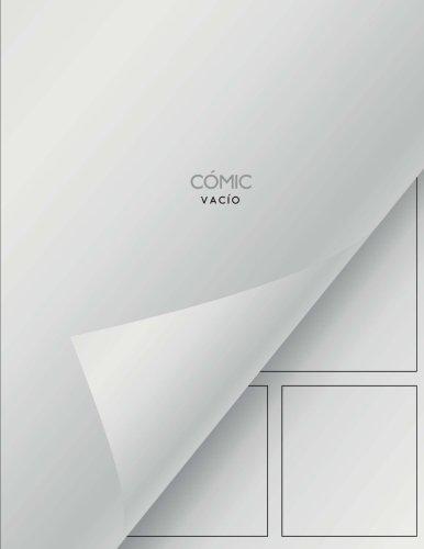 Cómic vacío: Cómic en blanco - 150 páginas