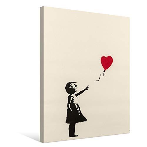 Banksy バンクシー 風船と少女 ポスター アートパネル キャンバス 絵画 インテリア 壁飾り 壁掛け
