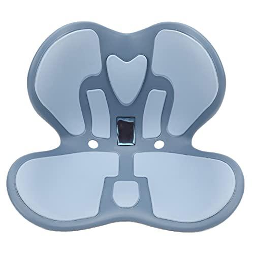 Sedia per la correzione della postura, adatta per la maggior parte dei sedili, sostiene la vita e protegge la sedia a dondolo per la colonna vertebrale per bambini(Atene Blu)