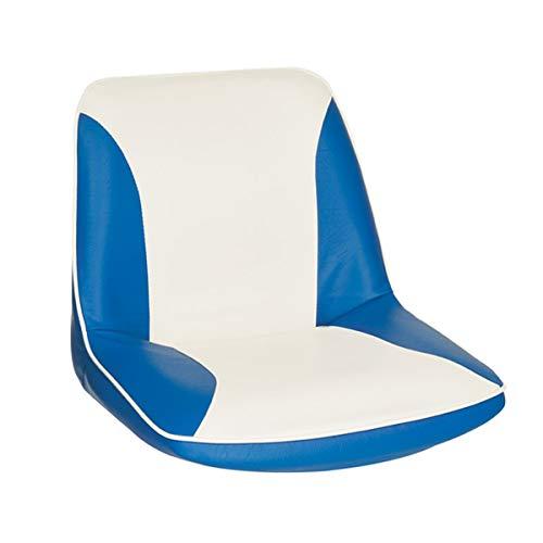 Oceansouth Bootssitz C-Seat Bootsstuhl Steuerstuhl, Farbe:blau/weiß