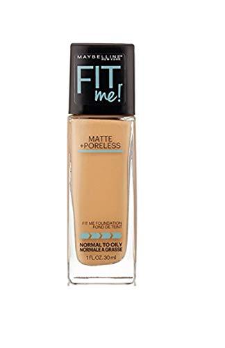 Myb Fitme 310 Mp Fndtn Sn Size 1z Maybelline Fit Me Matte+poreless Foundation Sun Seige 310 1 Fl Oz
