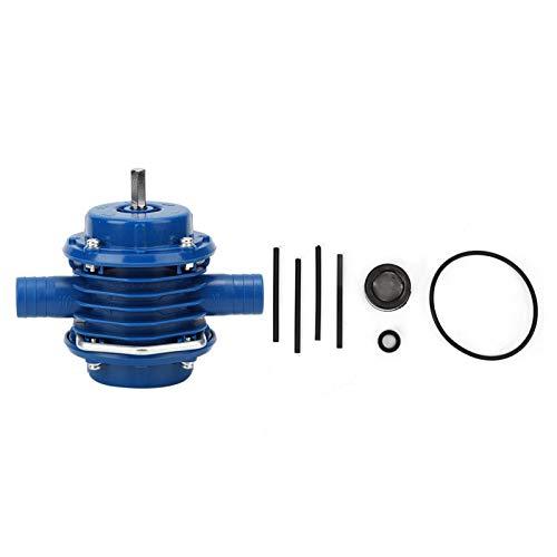 Bomba de agua para jardín Bomba de perforación compacta Bomba de transferencia de fluido de aceite Bomba de perforación eléctrica para el hogar, el jardín y el exterior
