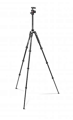 ヴァイテックイメージングManfrotto三脚Befreeアドバンスアルミ4段自由雲台ツイストロック式T三脚キットブラック全伸高150cm縮長40cmMKBFRTA4BK-BH