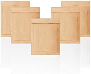 Natural Kraft Bubble mailers 6x9 Brown Padded envelopes 6 x 9 by Amiff. Pack of 20 Kraft Paper Cushion envelopes. Exterior...