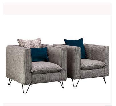 FTFTO Accesorios para el hogar sofá Individual nórdico sillón de salón sillón de Tigre Tienda de té Ligero Minimalista Moderno Bar cafetería sillón de recepción