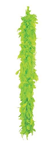 Boland- Boa Piumato per Adulti, Verde Lime, Taglia Unica, 52710