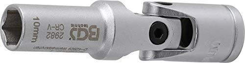 BGS 2982   Douille articulée de bougie hexagonales   10 mm (3/8\