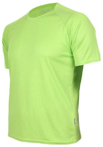 T-shirt fonctionnel Cona Basic unisexe - Manches courtes - Disponible en 24 couleurs XXL Applegreen